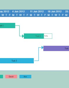 Simple gantt chart also maker to create charts online creately rh