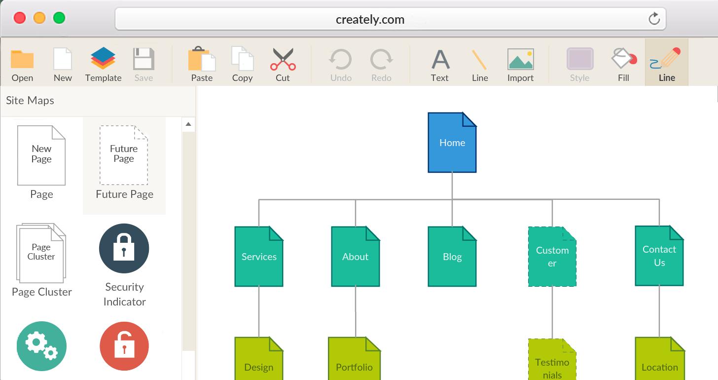 Visual Sitemap Generator to Create Sitemaps Visually
