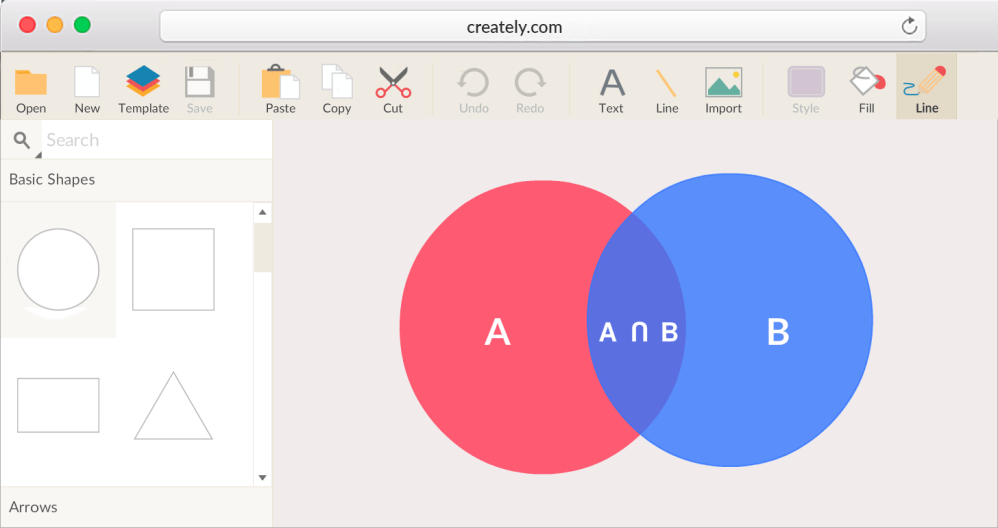 medium resolution of venn diagram maker with venn diagram templates to get started