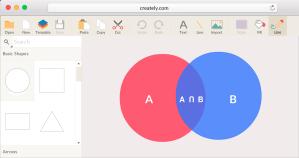 Venn Diagram Maker to Create Venn Diagrams Online | Creately