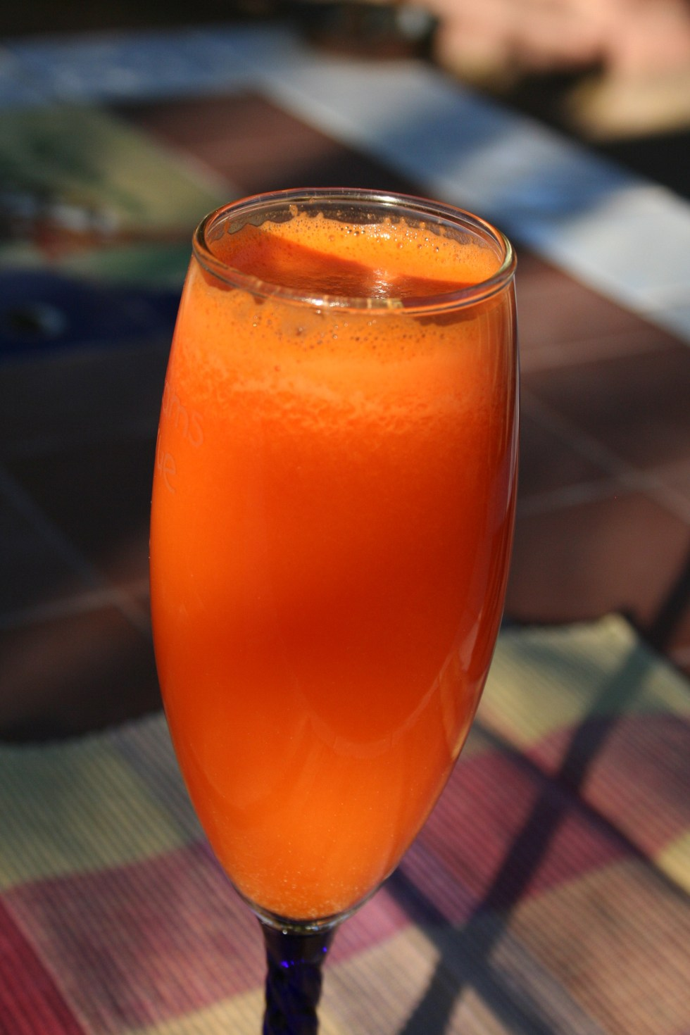 Tangerine Ginger Juice