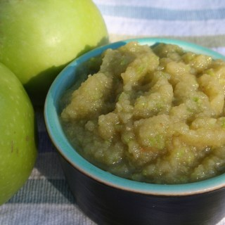 Green Raw Applesauce