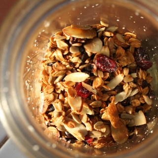 Trail Mix with Vanilla Almond Granola