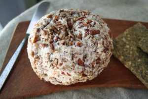 Vegan Jalapeño Havarti Cream Cheese Date Ball