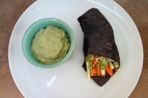 Tofu Nori Wraps with Vegan Avocado Wasabi
