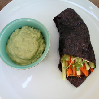 Tofu Nori Wraps with Vegan Avocado Wasabi Mayo