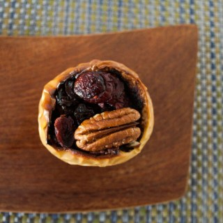 Baked Apple with Balsamic Reduction