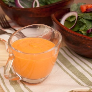 Roasted Red Pepper Tahini Dressing