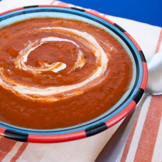 5 Ingredient Sun-dried Tomato Soup