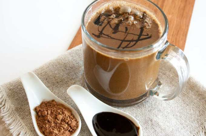 Vegan Molasses Hot Cocoa