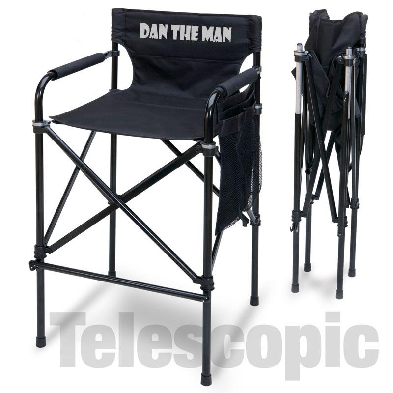customized directors chair bean bag covers target imprinted quad style tall aluminum custom