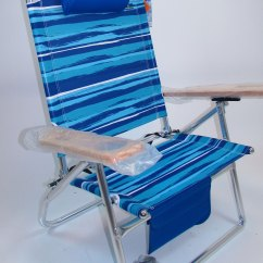 Custom Beach Chairs Chair Covers Hire West Midlands Imprinted 3 Position Big Fish Hi Seat Aluminum By