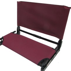 Stadium Chairs For Bleachers With Arms Chair Shade Imprinted Deluxe Wide Gamechanger Bleacher