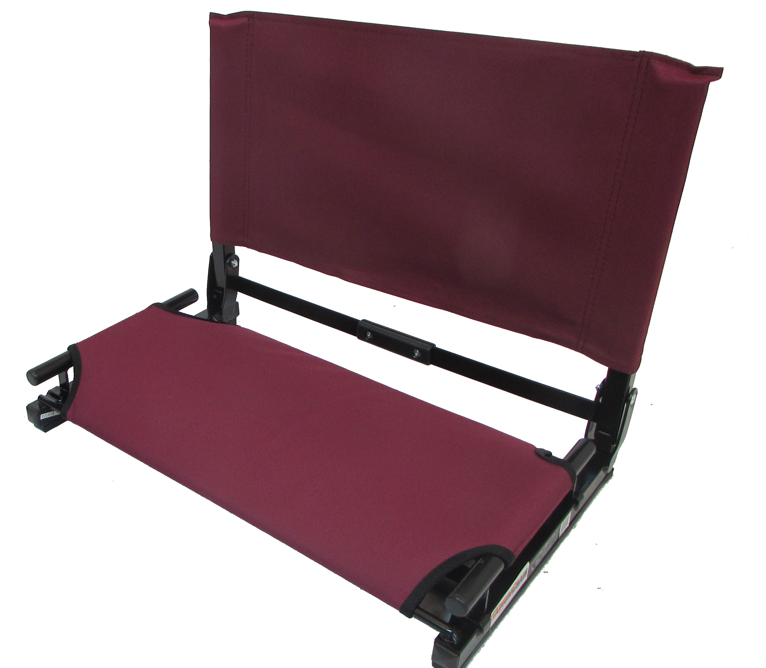 Stadium Chairs Imprinted Deluxe Wide Stadium Chair Gamechanger Bleacher