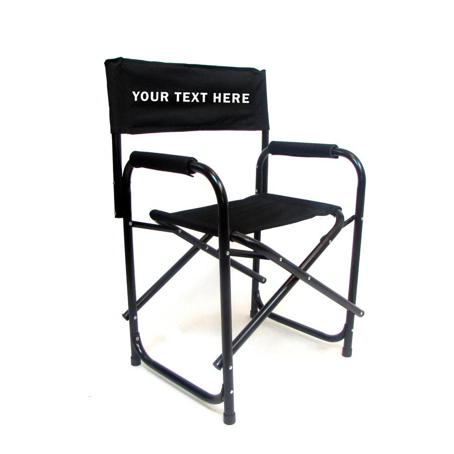 IMPRINTED All Aluminum 18 inch Directors Chair  Custom