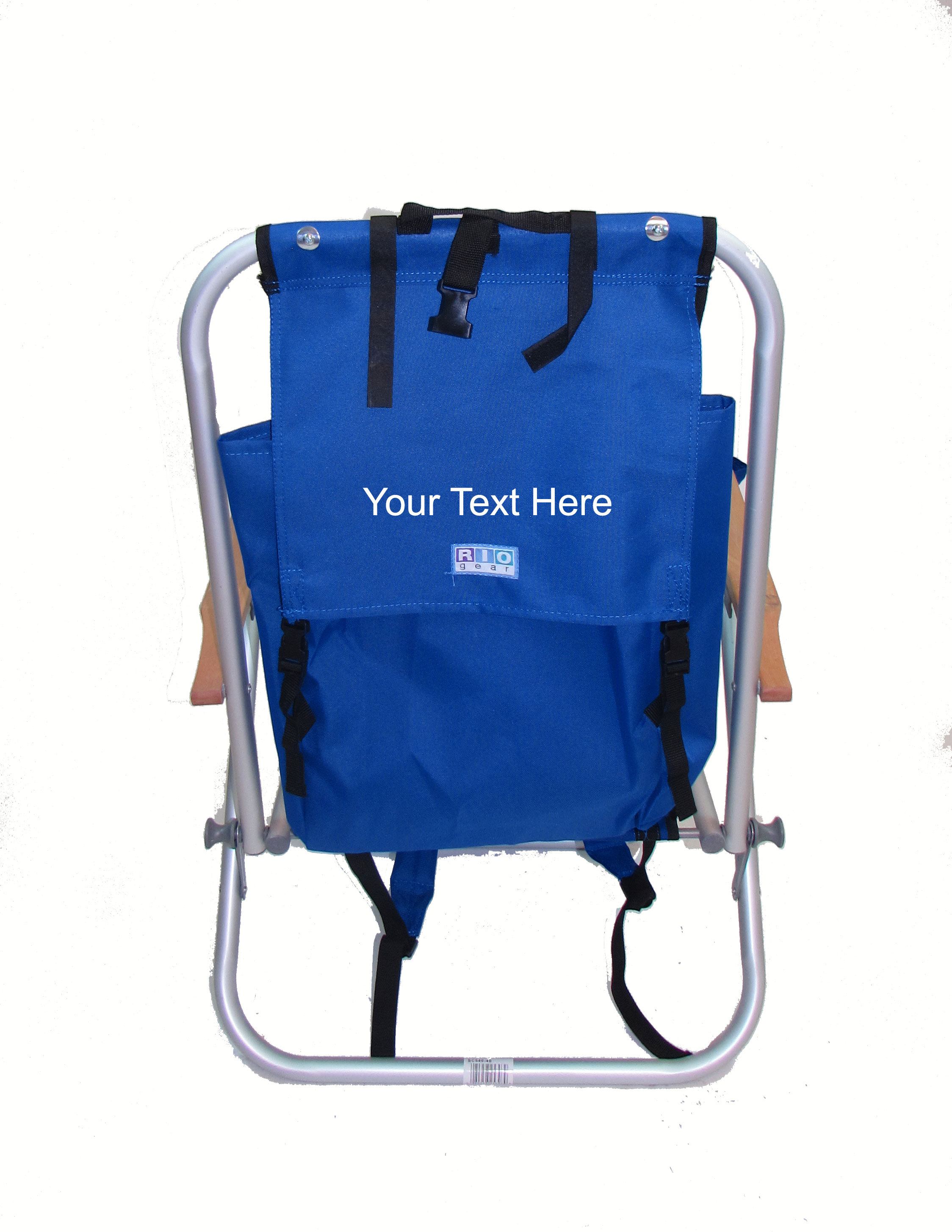 IMPRINTED Personalized Aluminum Backpack Chair by Rio