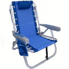 Back Pack Chair Hanging From Tree Imprinted Deluxe Aluminum Lay Flat Backpack W Cooler