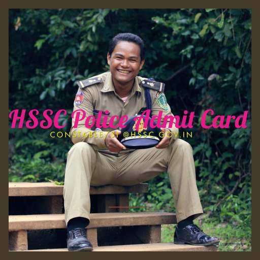 Haryana Police Hall Ticket 2019 Download HSSC