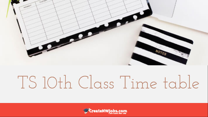 TS 10th Class Time table 2020 Manabadi - Telangana SSC Exam time table 2020