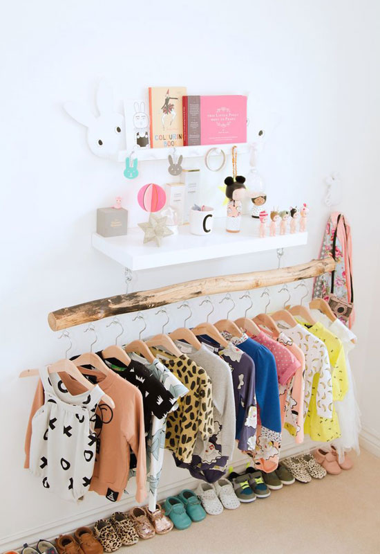 how to organize baby