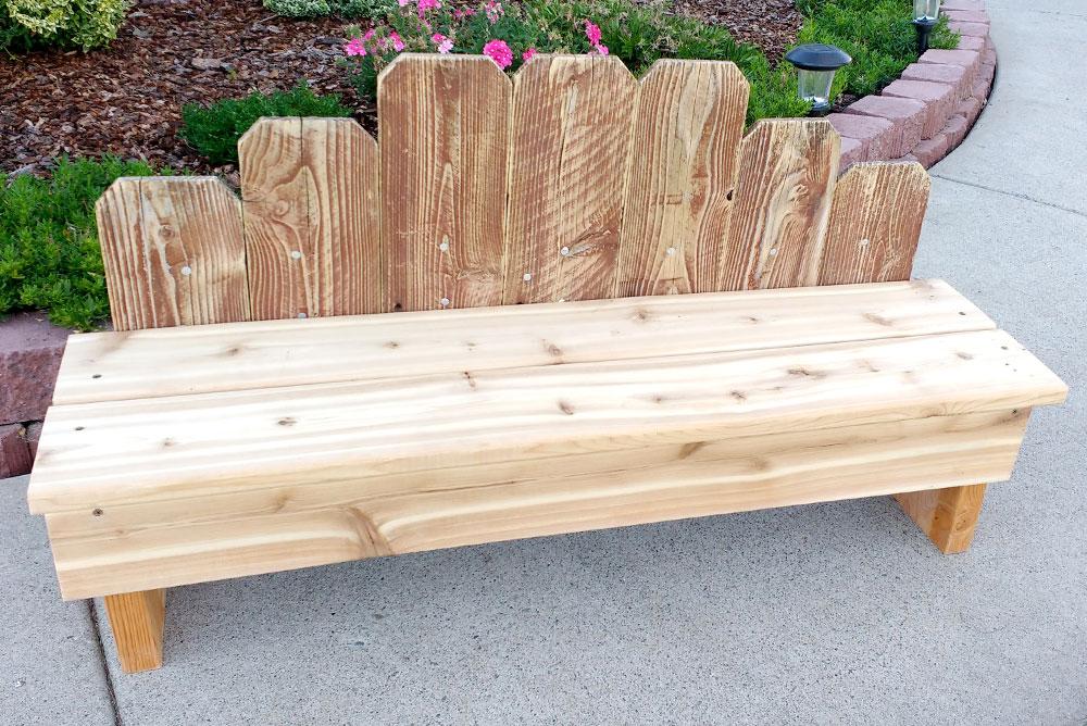diy wooden fence board