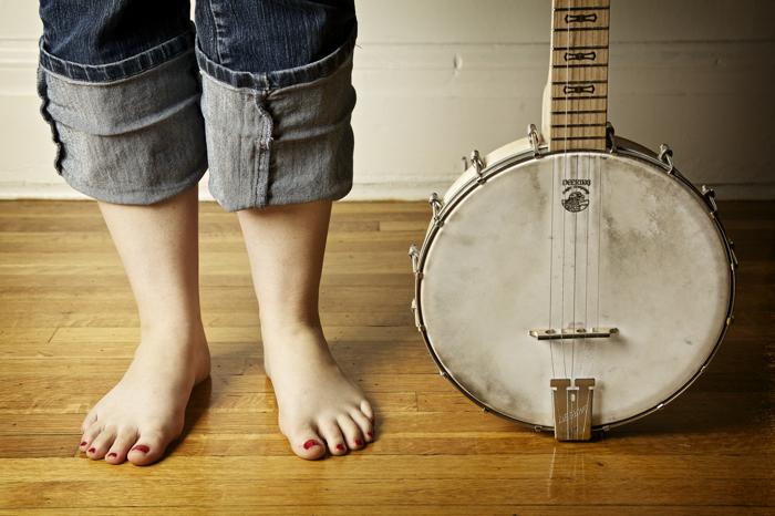 A Girl & Her Banjo