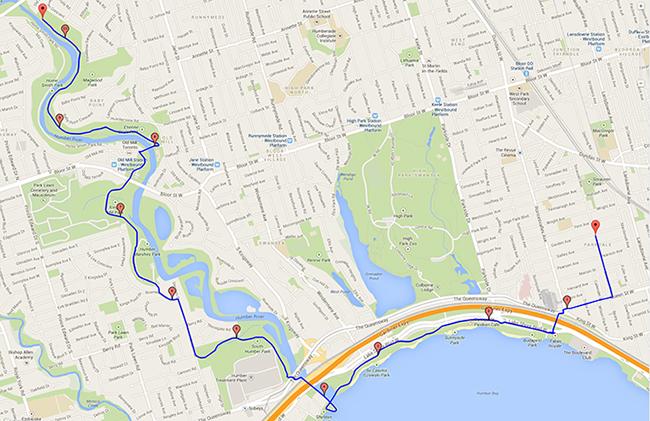 06-08-14 Bike Ride Map