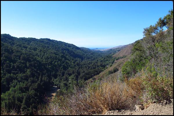 Big Sur Hiking View