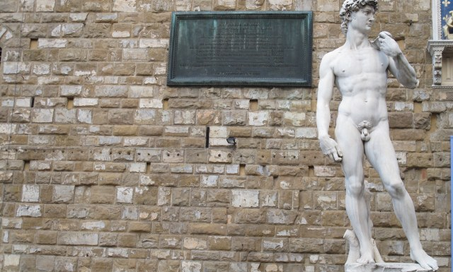 Florence Nude Statue
