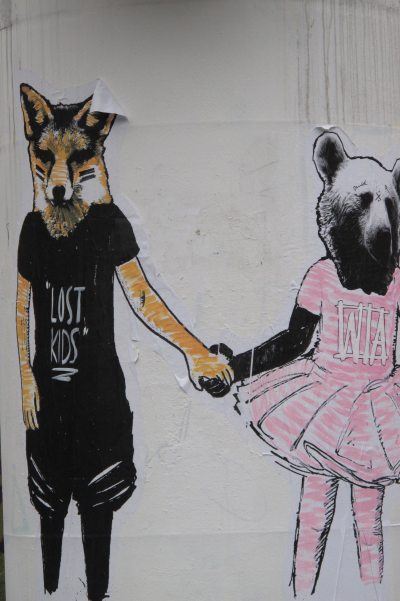 Paris Street Art - Fox & Bear