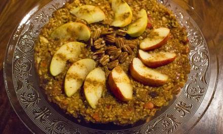 Apfelkuchen Roh-Vegan