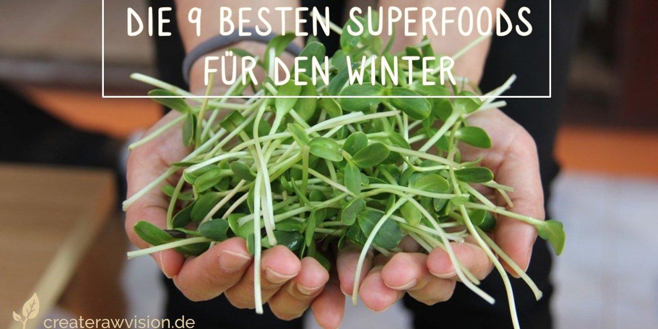 Die 9 Besten Superfoods für den Winter
