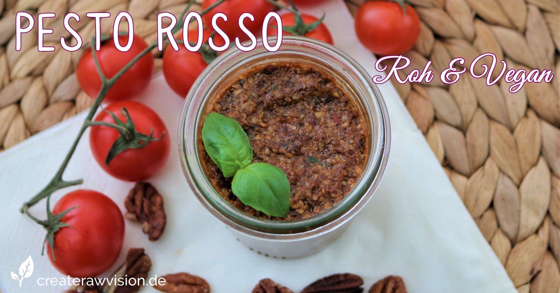 Spaghetti Rosso Roh & Vegan
