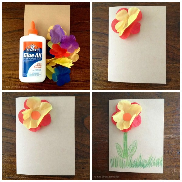 Simple steps to decorate your inspirational card with a Dollar Store lei