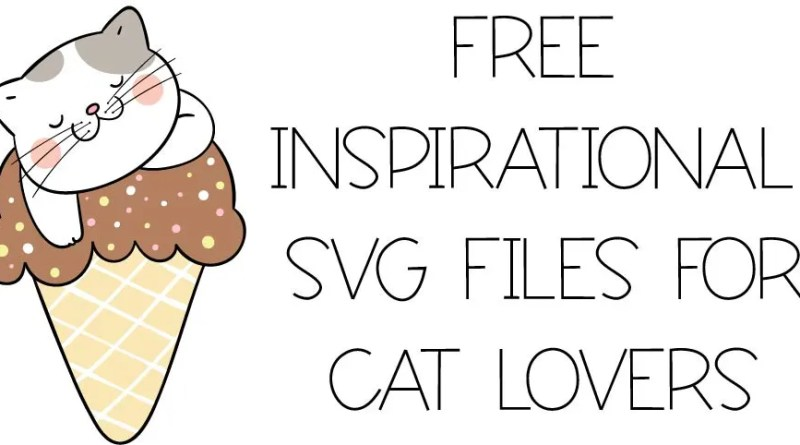 3 Free Cat Svg Files For Handmade Cards Create To Donate