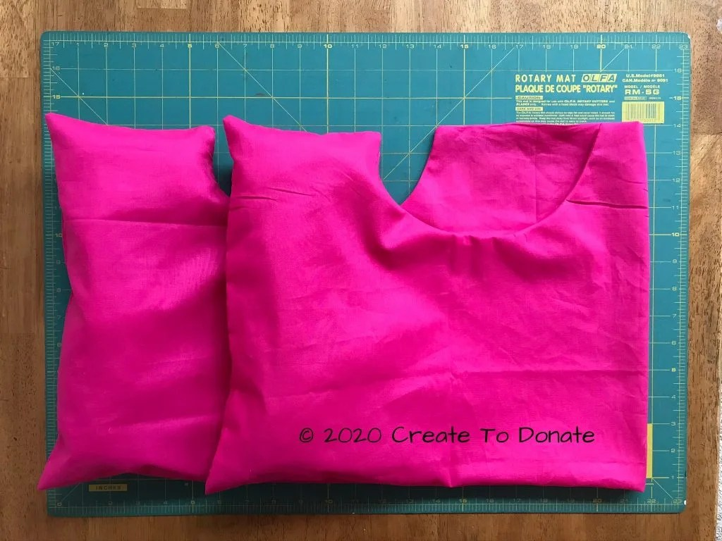 simple double mastectomy pillow
