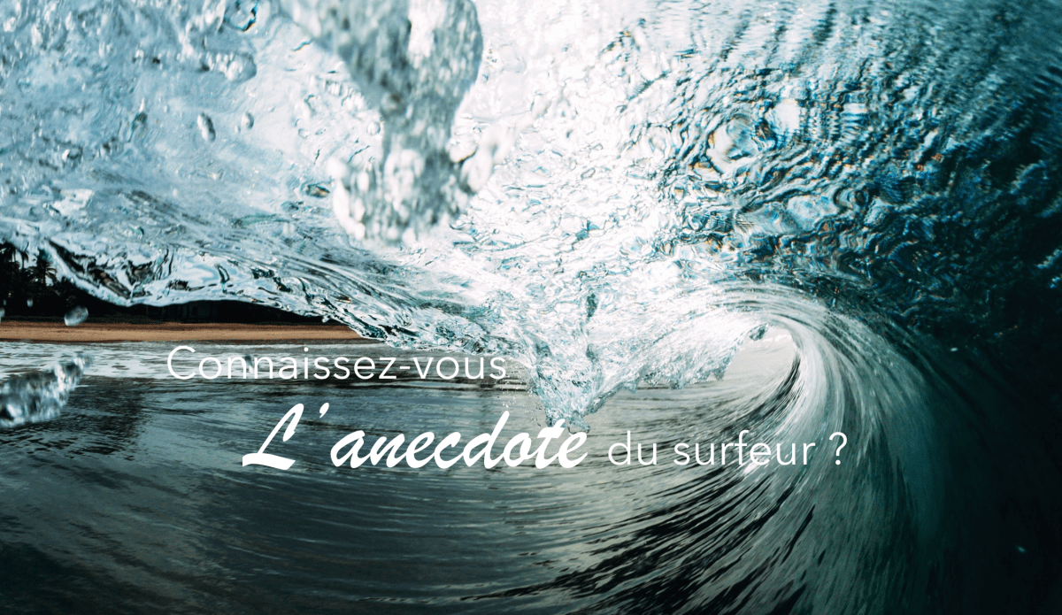 La vague ou l'anecdote du surfeur