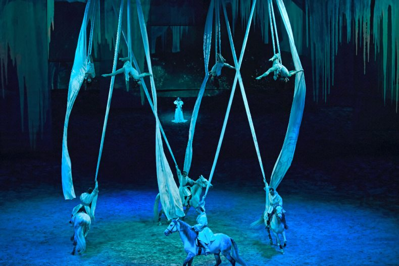 Les Anges, spectacle Odysseo Cavalia ou l'illustration de l'énergie Michaëllique