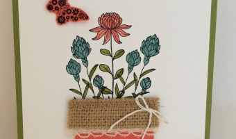 Flowering Fields for February Card Class!