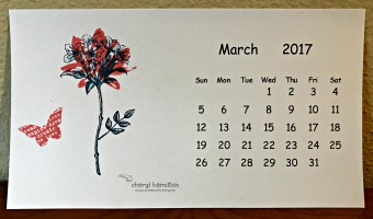 2 Step Stampin' for March