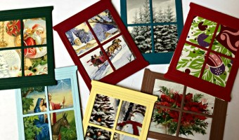 SSINK Window Cards- Recycling!