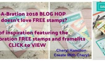 Sale-a-Bration Kick Off Blog Hop
