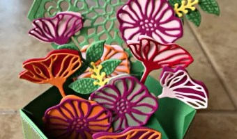 Pop Up Bouquet for Kre8tors Color Challenge 001