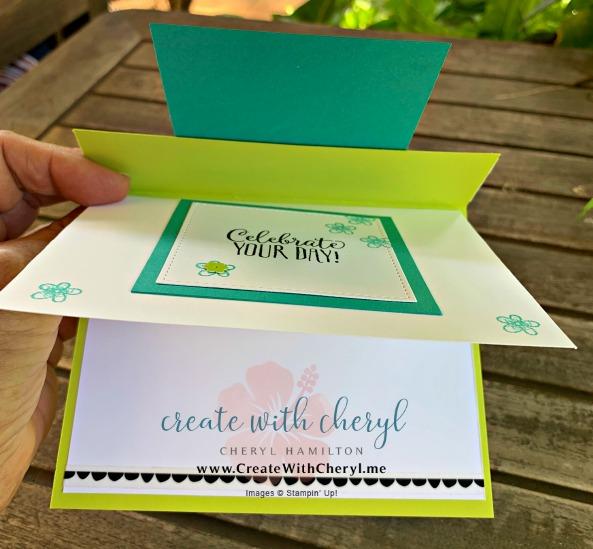 #kre8torsbloghop #createwithcheryl #cherylhamilton #stampinup #saleabration #funfoldcards