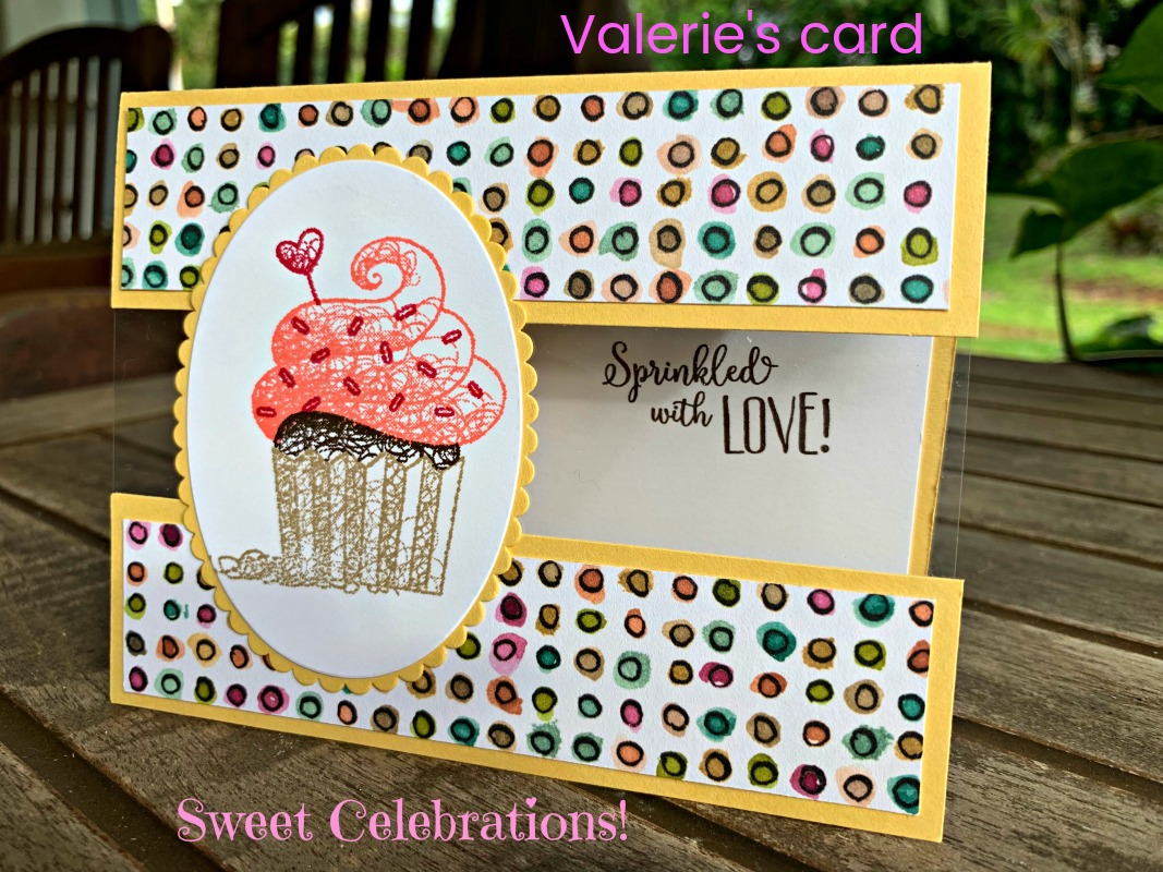 Stamp a Stack #sweetcelebrations #createwithcheryl #birthdaycards #diycards #cupcake