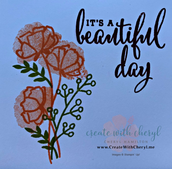 #createwithcheryl #lovewhatyoudo #stampinup
