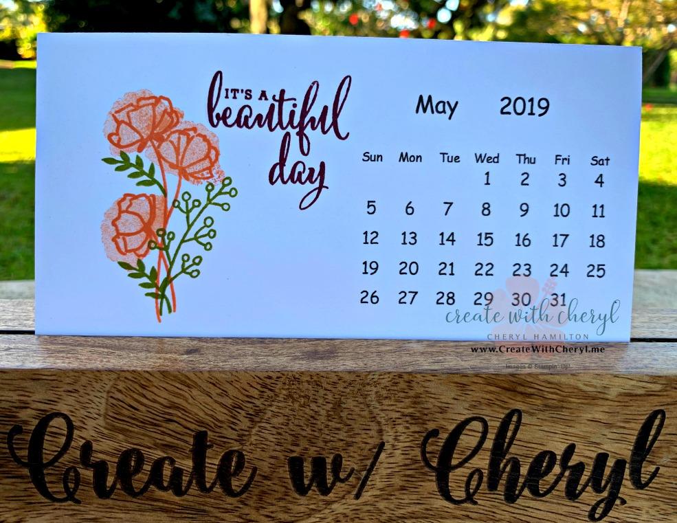 May 2019 Calendar #createwithcheryl