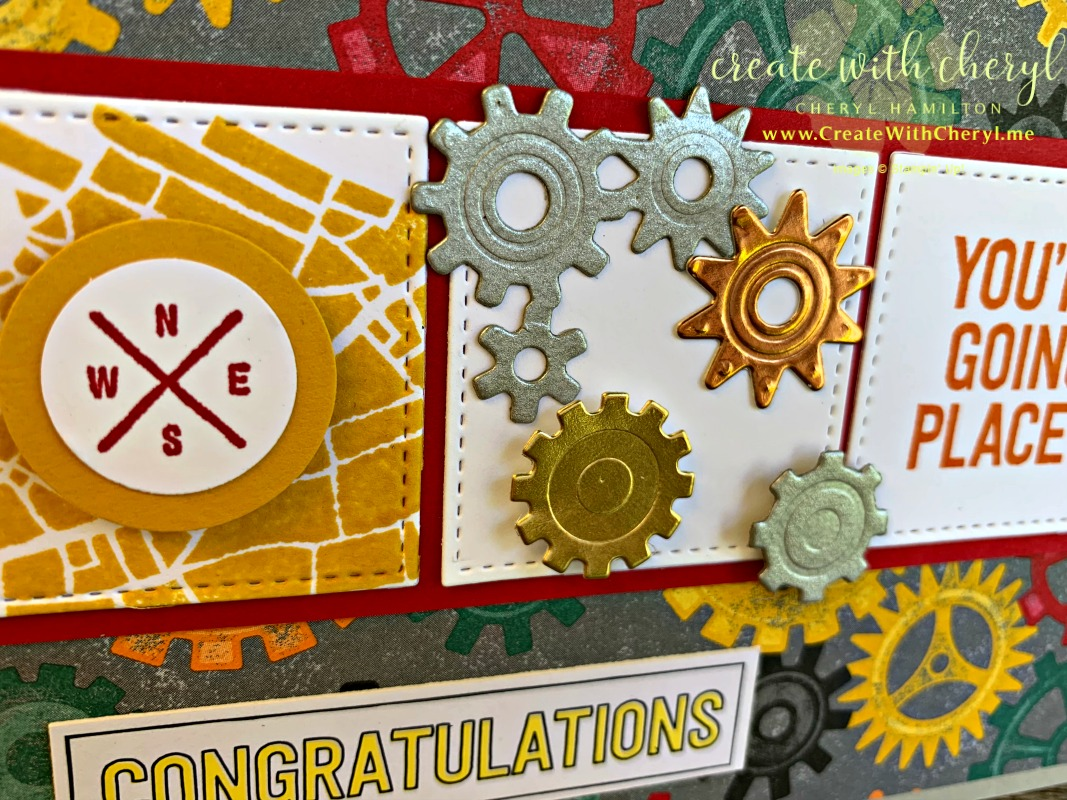 #createwithcheryl #stampinup #graduationcard #goingplaces