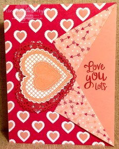 Heartfelt Collar Fold #createwithcheryl #valentine
