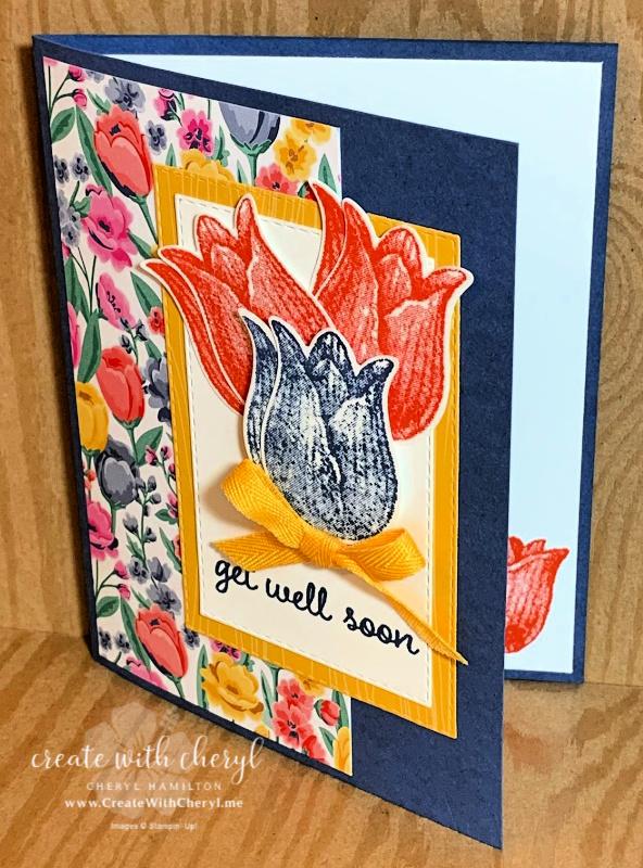 Timeless Tulips Card Cheryl Hamilton